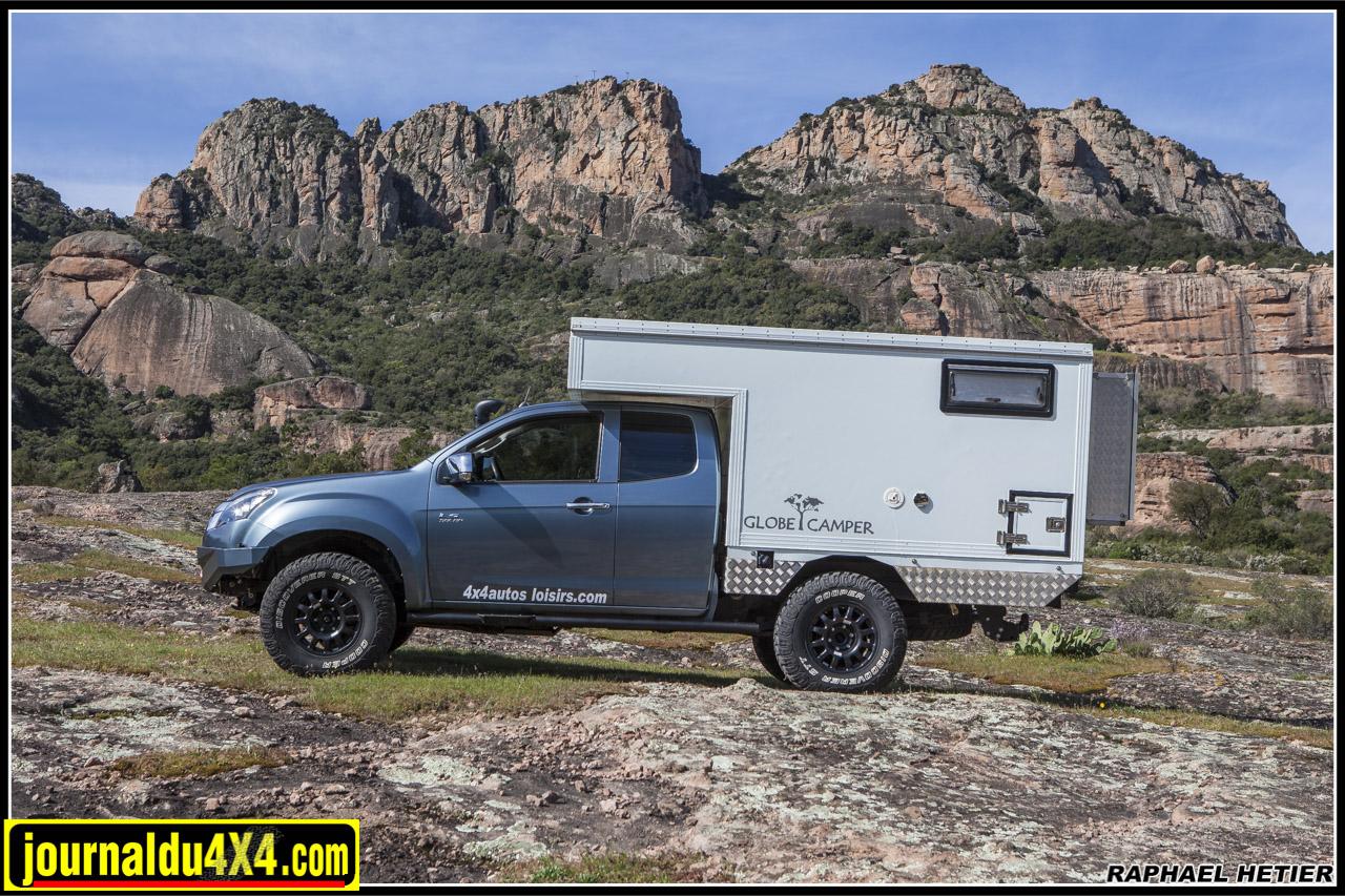 Dmax et cellule Globe Camper font bon ménage chez 4×4 Autos Loisirs