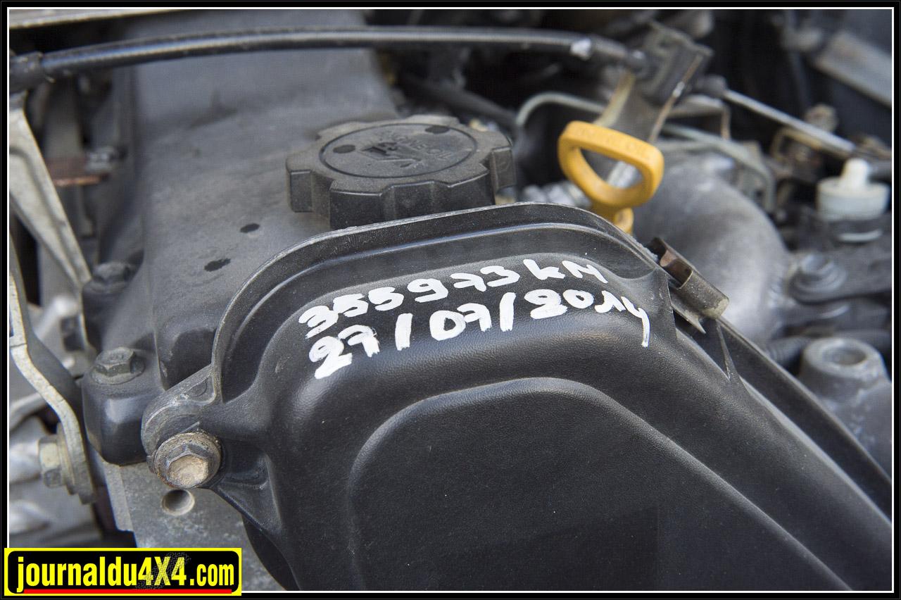 Le moteur après  pas loin de trois tour et demi de compteur est toujours vaillant