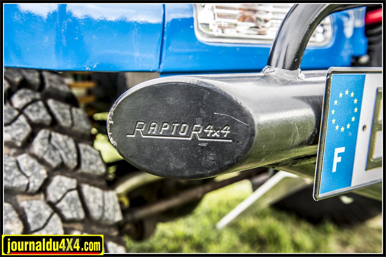 pare chocs pour Toyota de chez Raptor