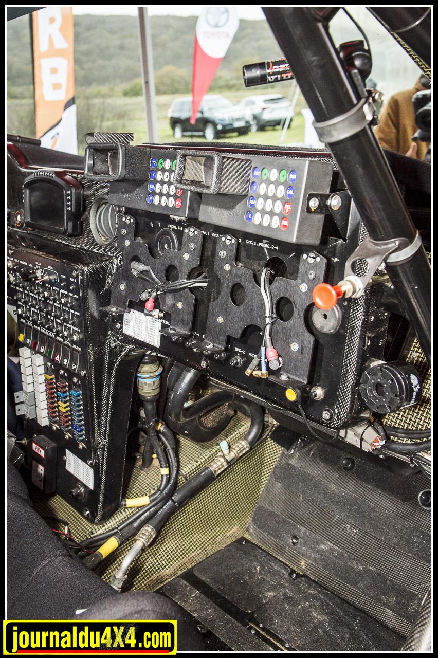 un intérieur et un équipement digne d'un cockpit d'avion de ligne