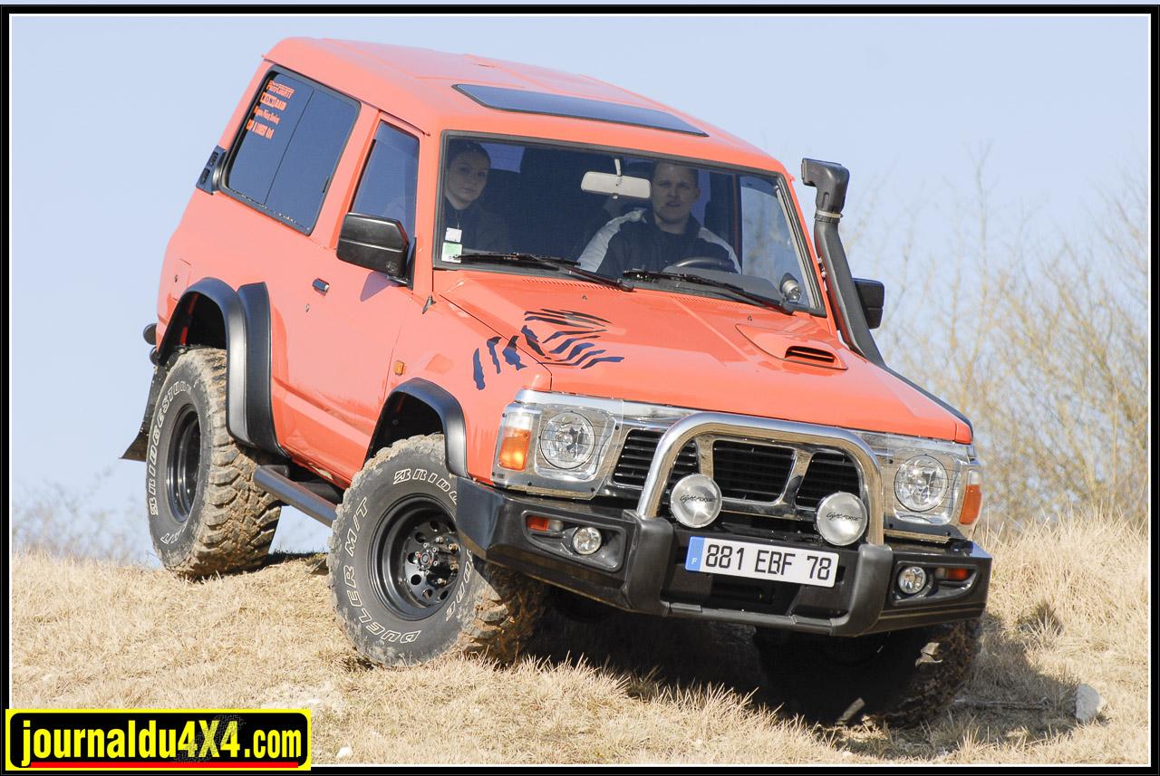 Patrol GR 2.8 L turbo diesel : une passion mécanique