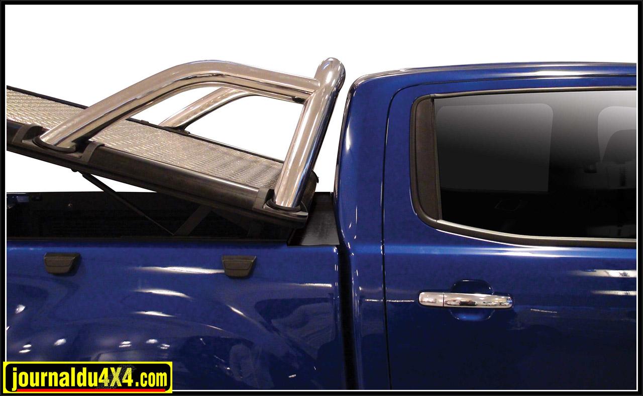 Tonneau cover aluminium Ford Ranger