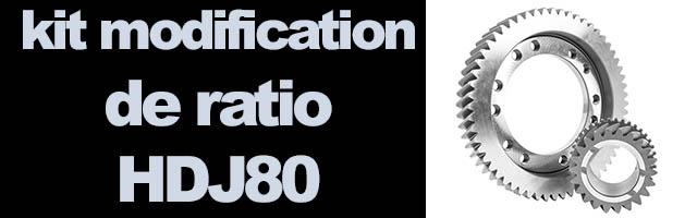 Modification ratio HDJ80