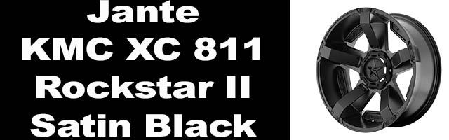 KMC XC 811 Rockstar II Satin Black