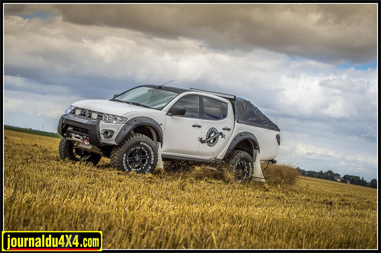 Mitsu L200 pickup prépa Off Road Concept