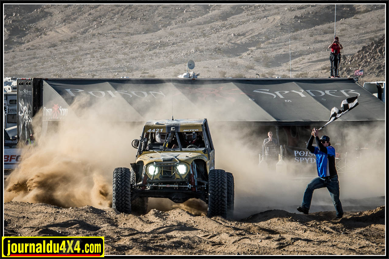 Erik Miller remporte le Xème King of the Hammers