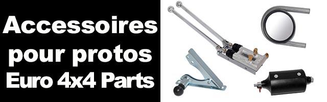 Accessoires pour Protos Euro 4×4 parts