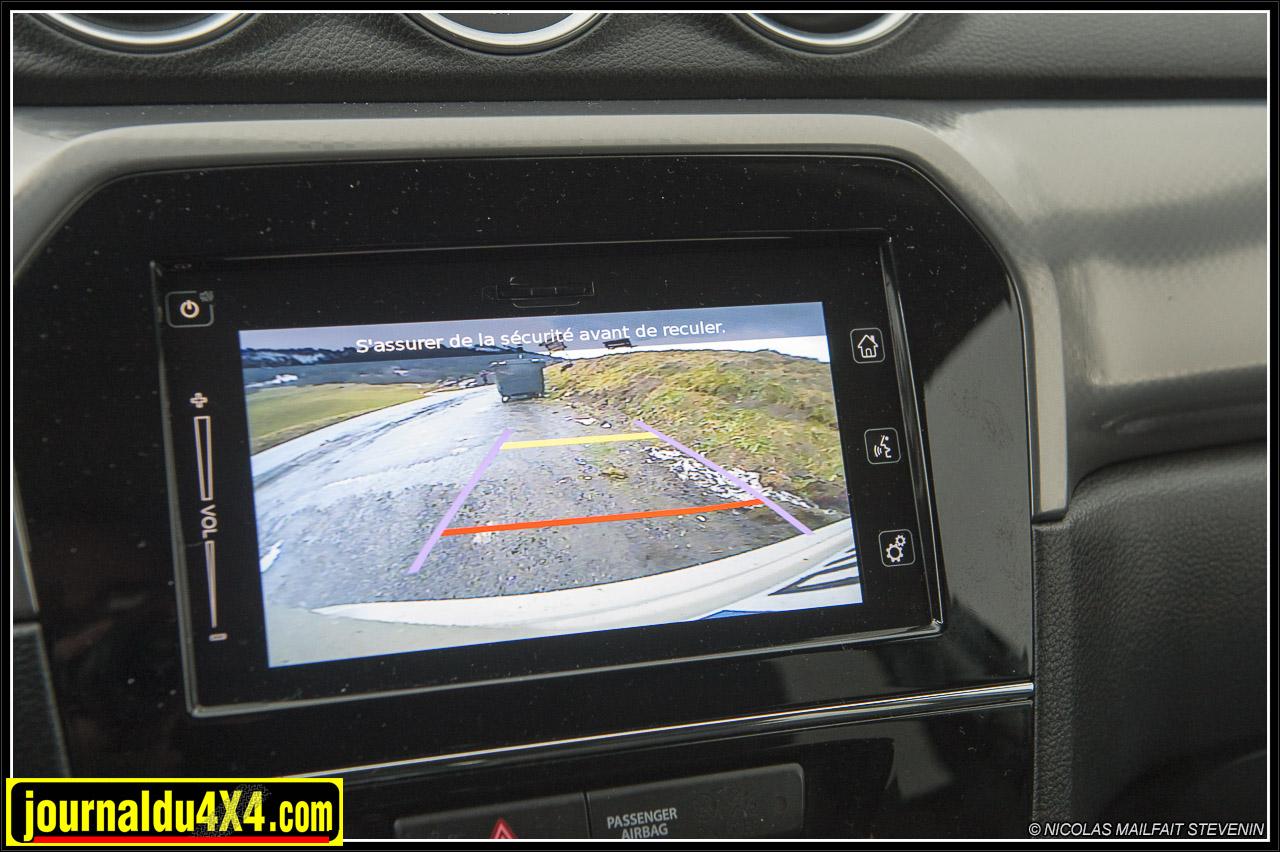 une caméra de recul
