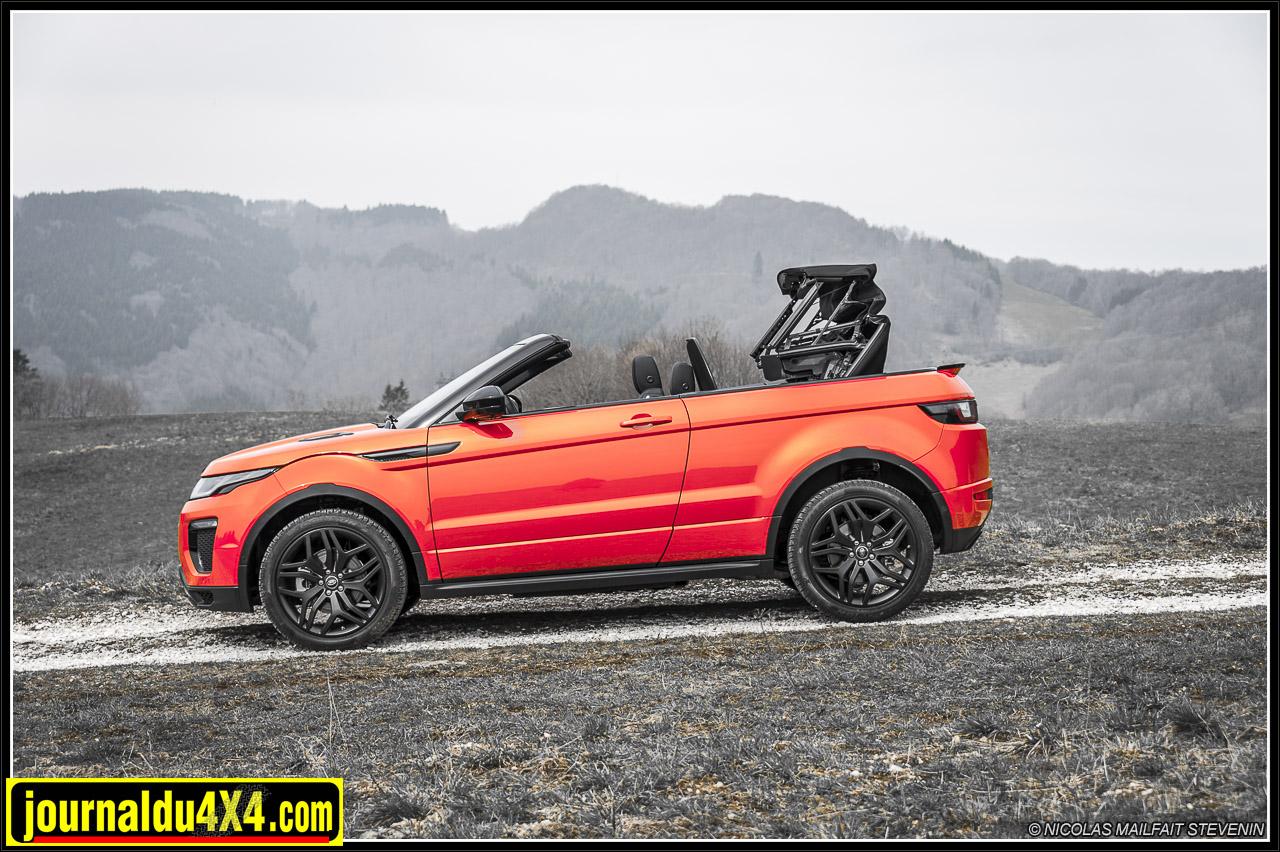 essai range rover evoque cabriolet td4 180ch. Black Bedroom Furniture Sets. Home Design Ideas