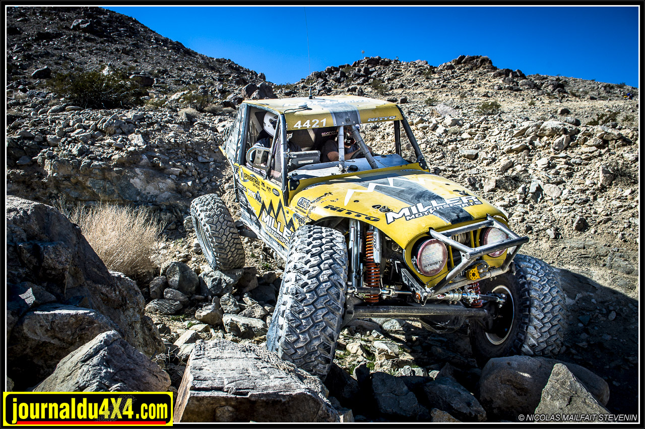 Erik Miller 1er au King of the Hammers 2016