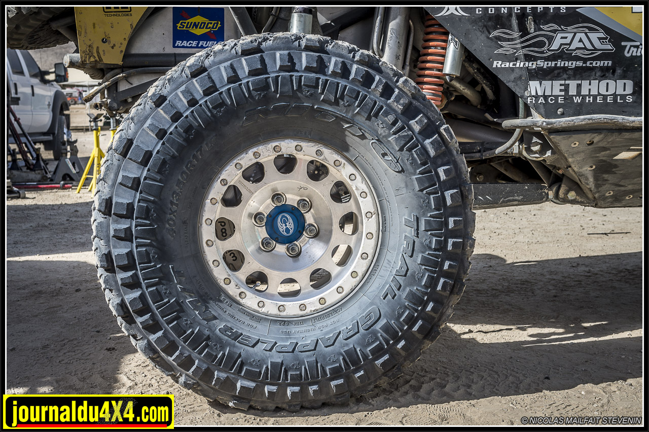 Pneus Nitto Trail Grappler M/T en 40