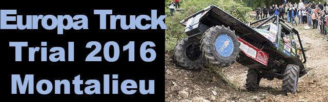 Montalieu Trial truck 2016  : la France s'impose dans deux catégories