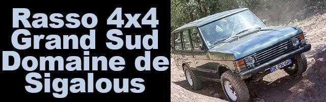 Rasso 4×4 Grand Sud Domaine de  Sigalous