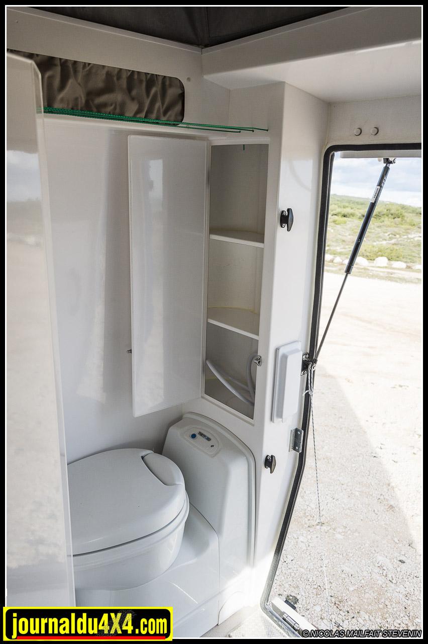 les toilettes à cassette