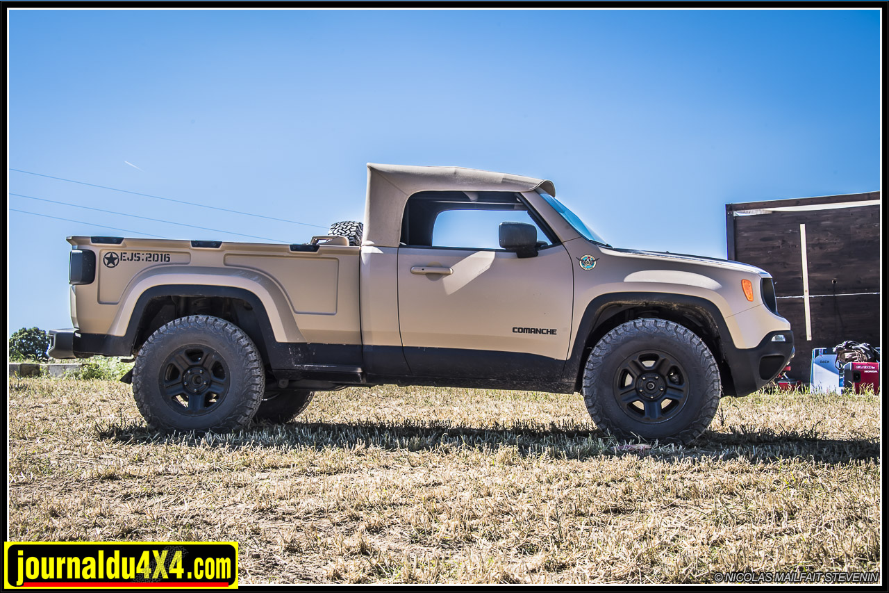 jeep comanche pick up. Black Bedroom Furniture Sets. Home Design Ideas