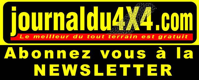 abonnez vous à la newsletter