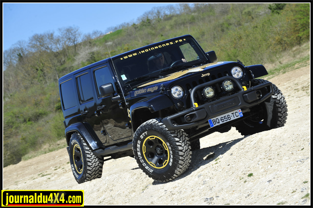 Jeep JK 2,8L CRD Golden Eagle edition Indiancars.
