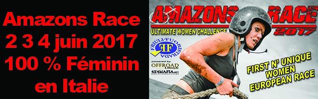 AMAZONS RACE 2 3 4 juin 2017