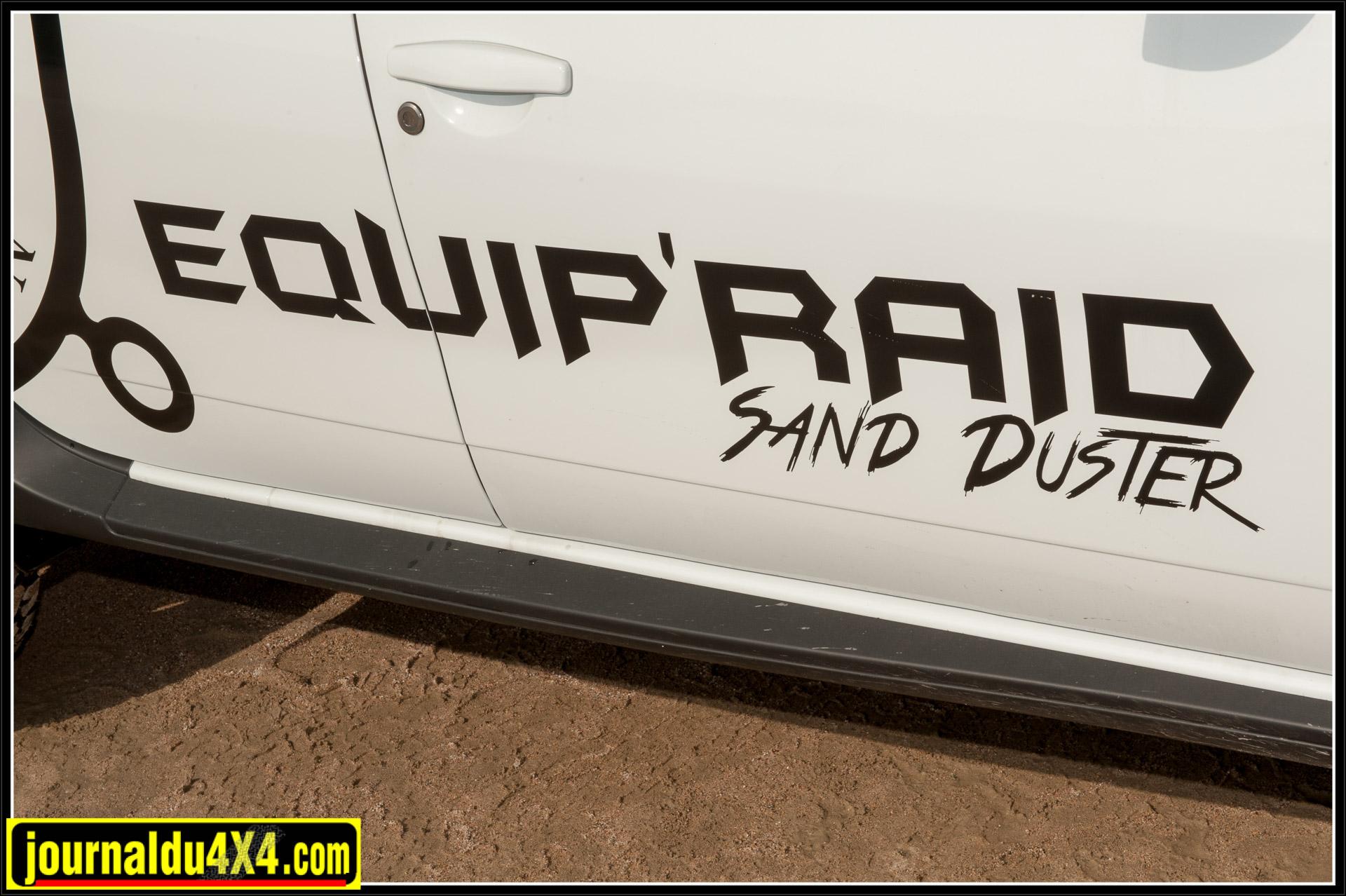 Son nom est tout trouvé : Sand Duster