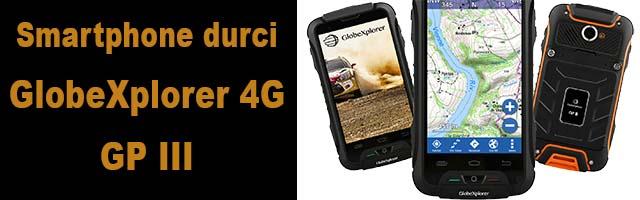 nouveau smartphone GlobeXplorer 4G : le GP III