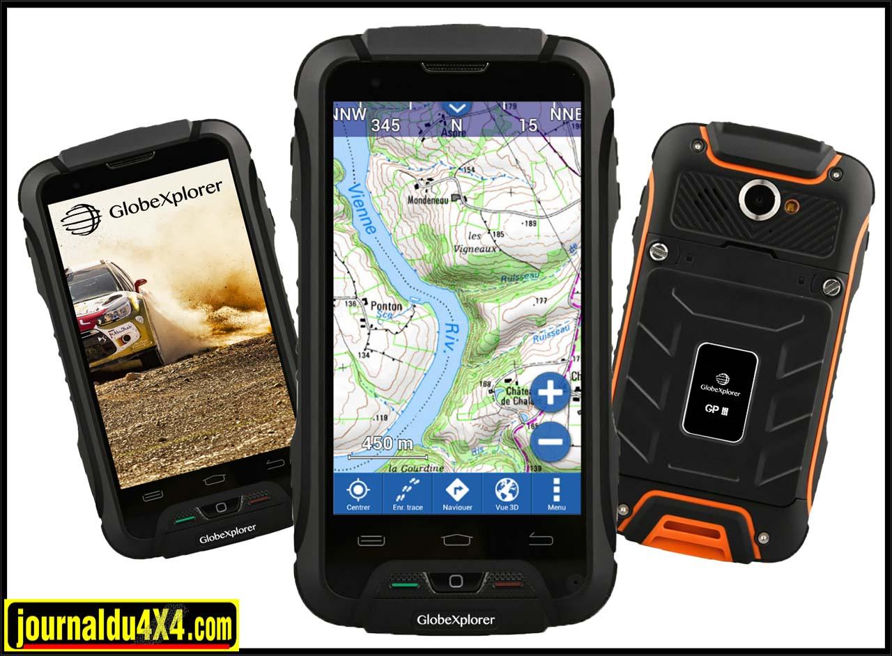smartphone GlobeXplorer 4G : le GP III