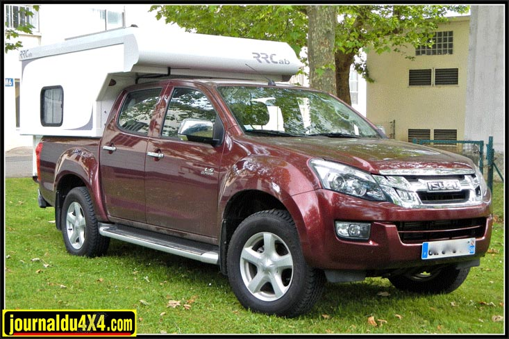 RRcab cellule pour pick up 4×4