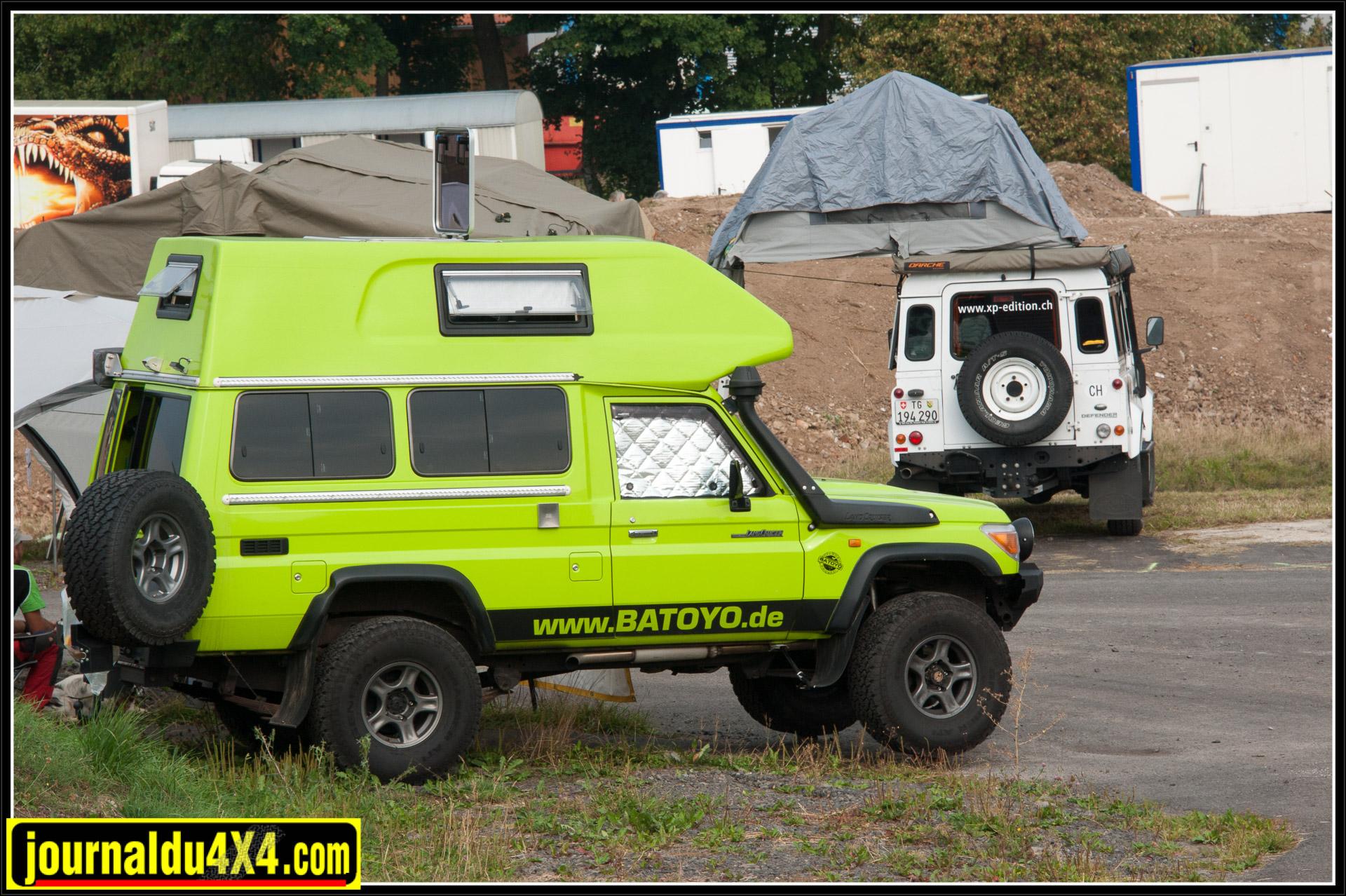 Batoyo, qui propose des équipements et des voyages avec un véhicule qu'il est impossible de manquer