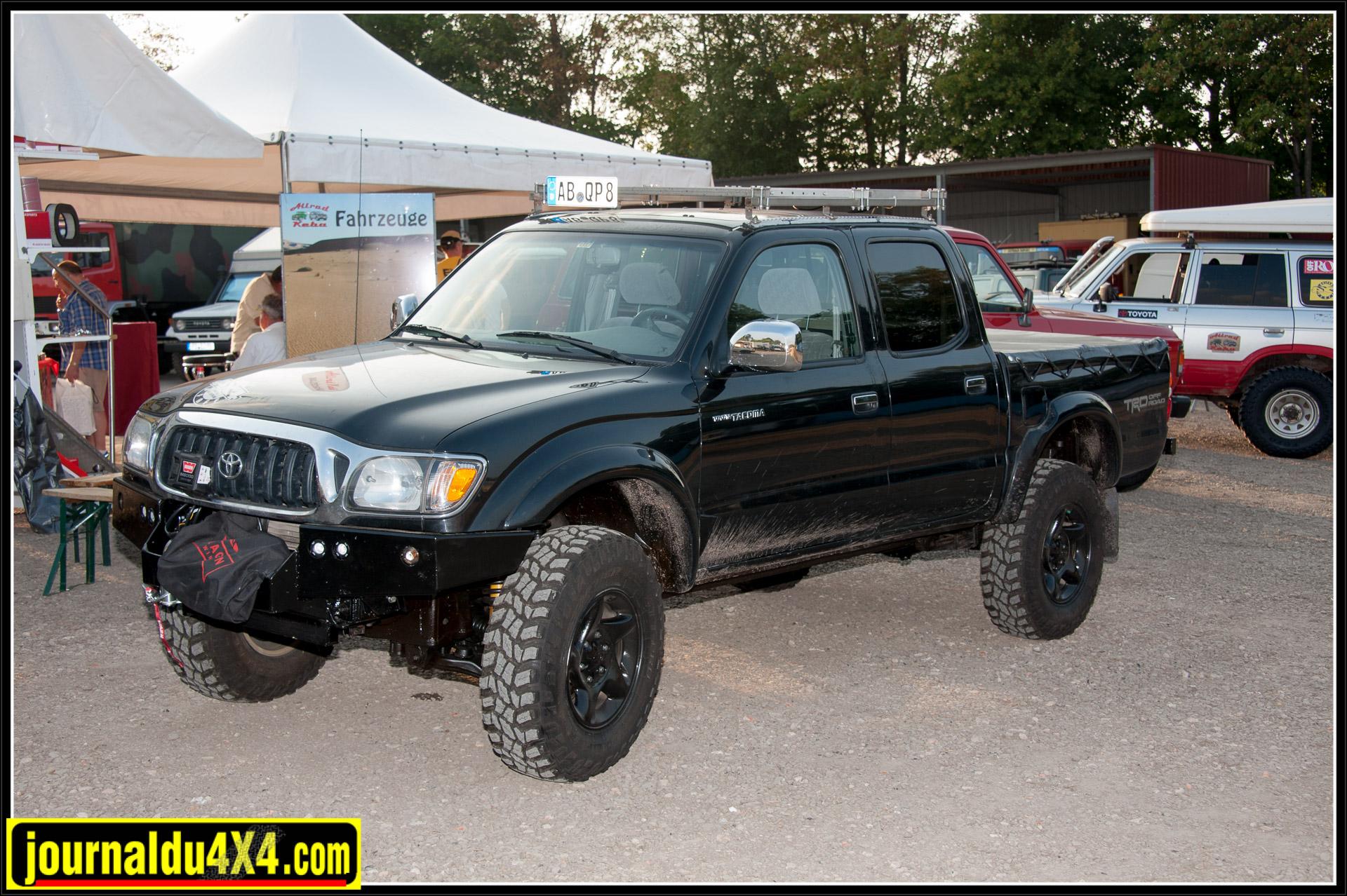 Et ce Toyota Tacoma, pick-up fabriqué aux Etats-Unis depuis 1995.