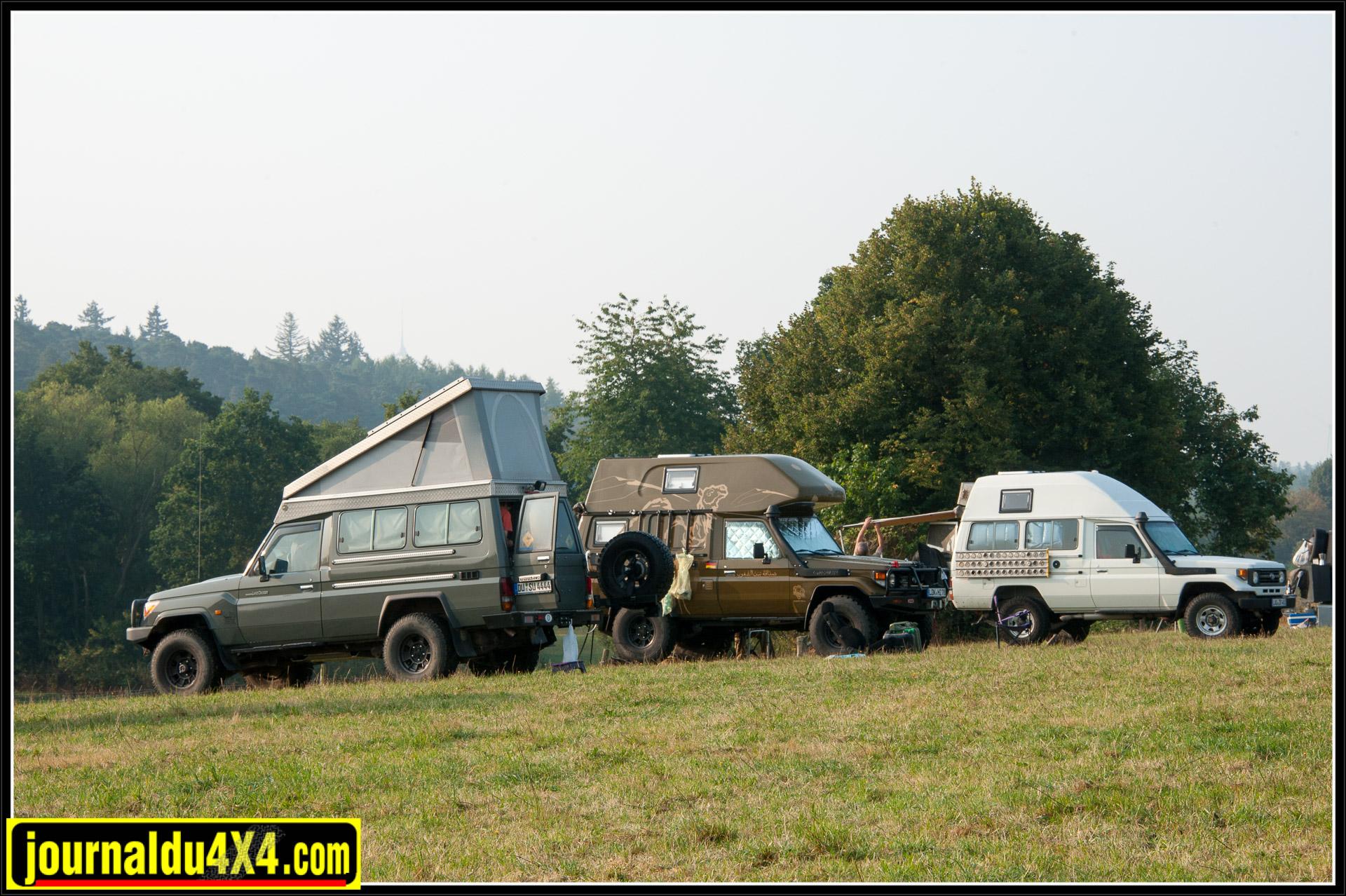 Le série 7 reste la base pour les voyageurs, qu'il soit équipé d'un toit relevable ou d'un toit surélevé avec ou sans capucine.