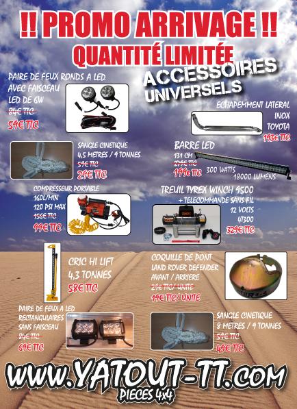 Promotions chez yatout-tt.com