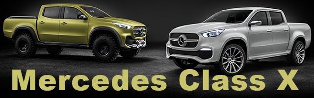 Mercedes Pick-Up Class X