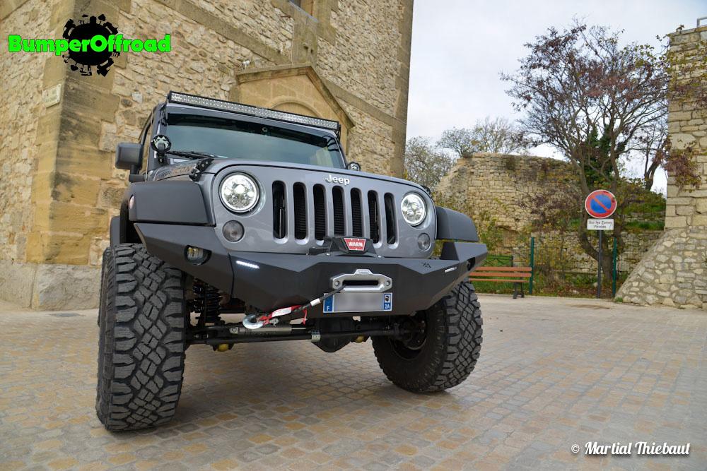 pare choc x quattro pour jeep wrangler jk