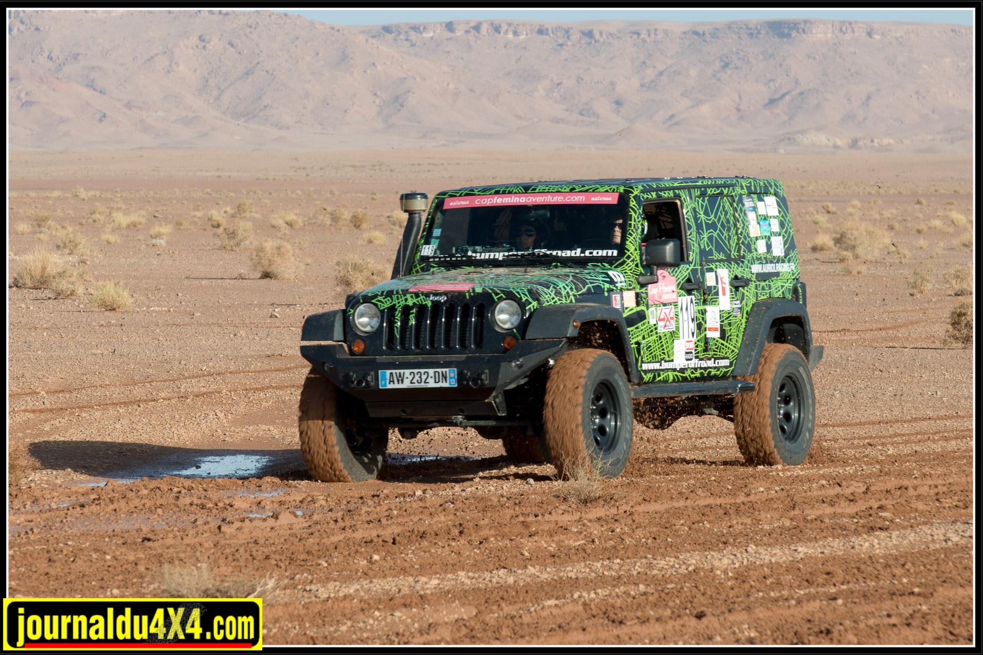 Louer une Jeep pour un rallye féminin avec Bumper Offroad