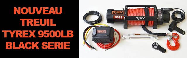 NOUVEAU TREUIL TYREX 9500LB BLACK SERIE