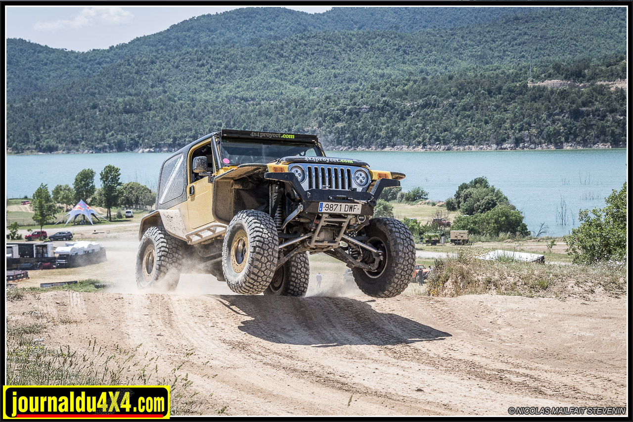 Jeep TJK IFS suspension indépendante de 4×4 Proyect