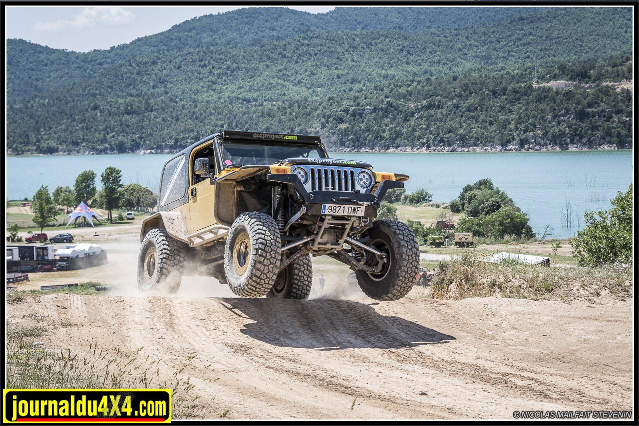 Jeep TJK IFS suspension indépendante de 4×4 Proyect