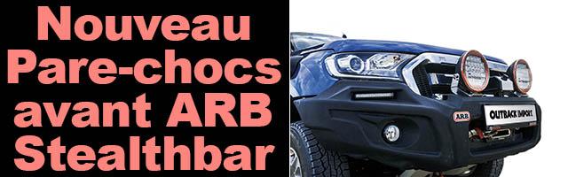 Nouveau Pare-chocs avant ARB Stealthbar