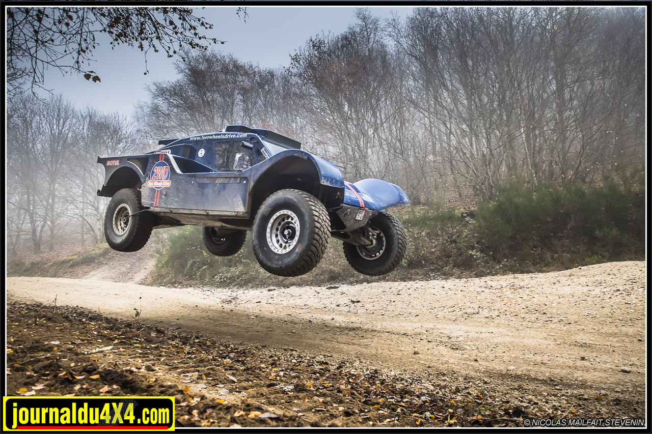 Buggy Two Wheels Drive Africe race 2017