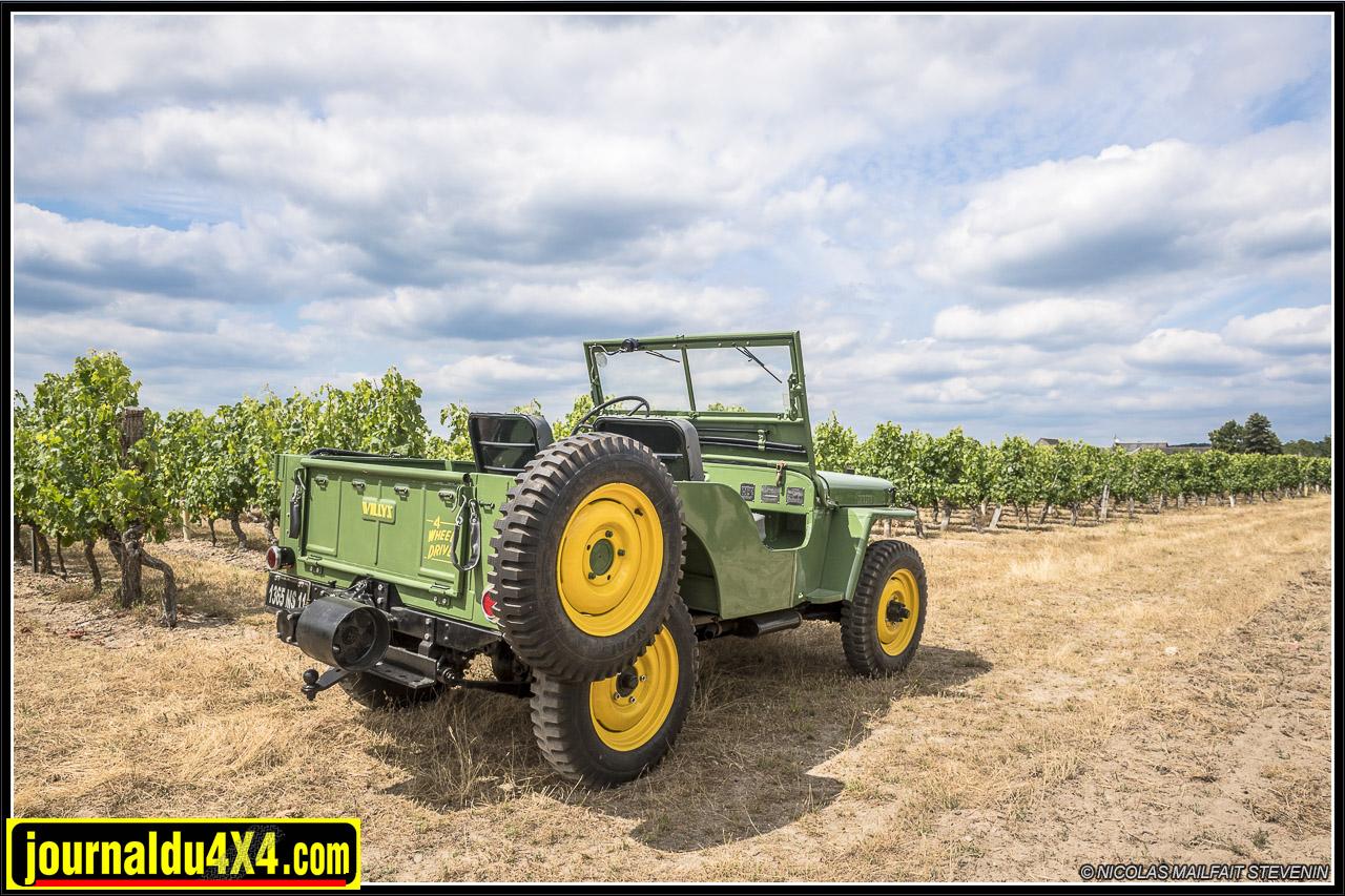 Jeep CJ2A EC de 1946 – première Jeep civile