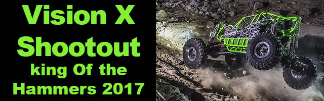 Backdoor VisionX Shootout the big carnage at King Of the Hammers 2017