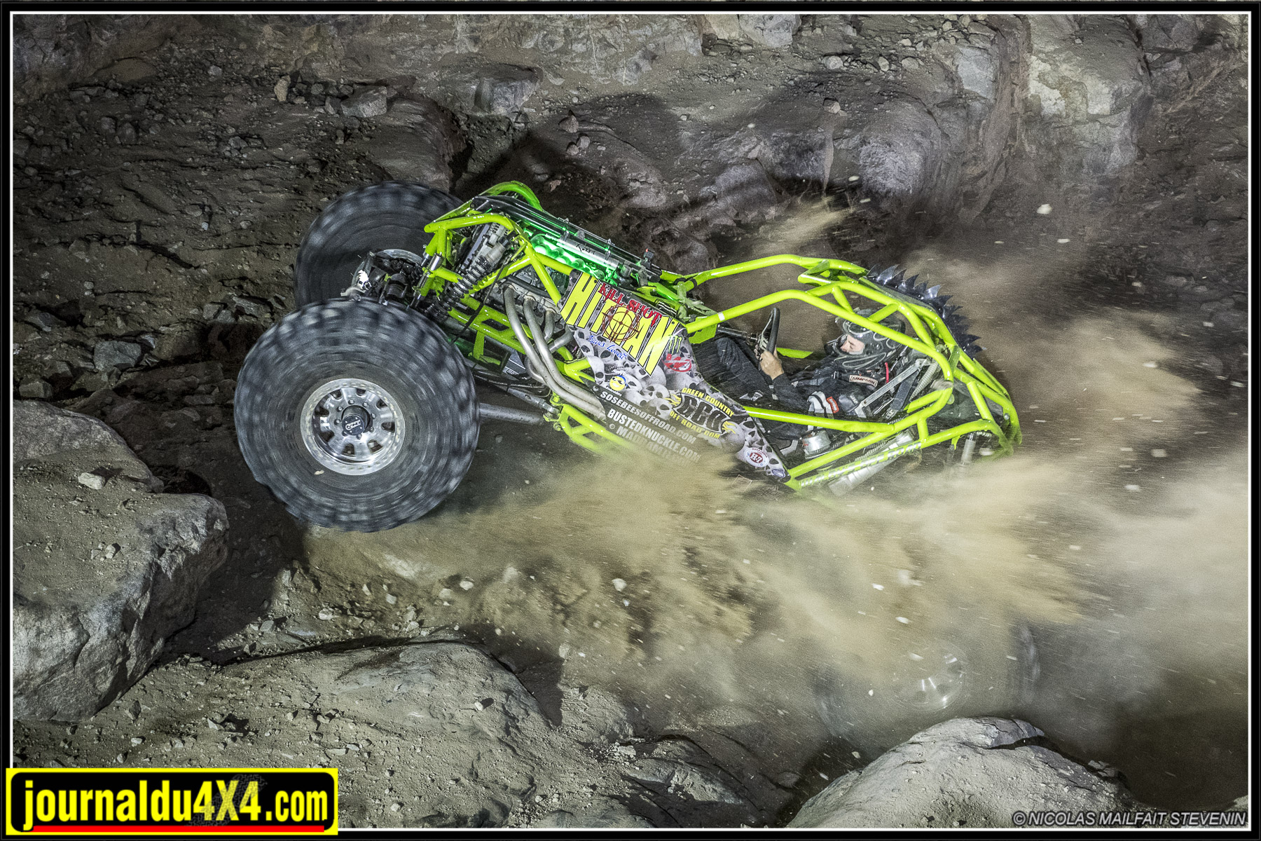Shootout au King Of the Hammers, Backdoor fait un carnage !