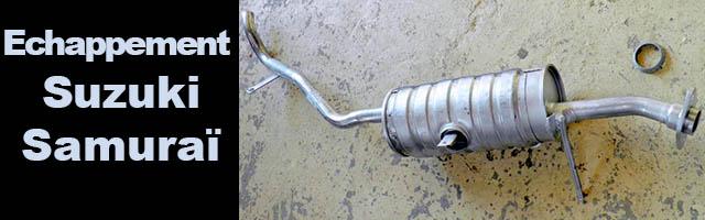 Echappements pour samurai diesel et turbo diesel