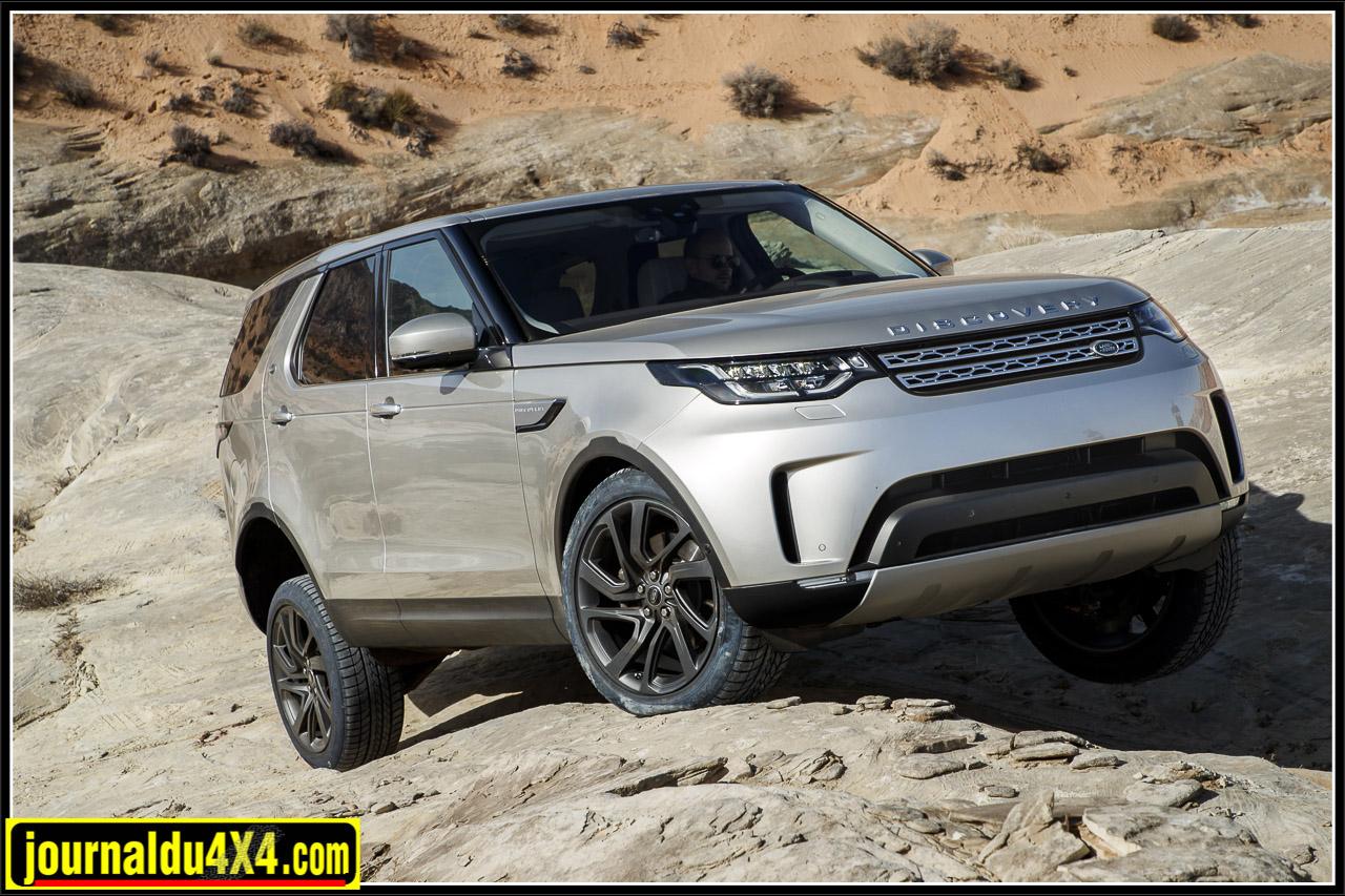Essai Land Rover Discovery V