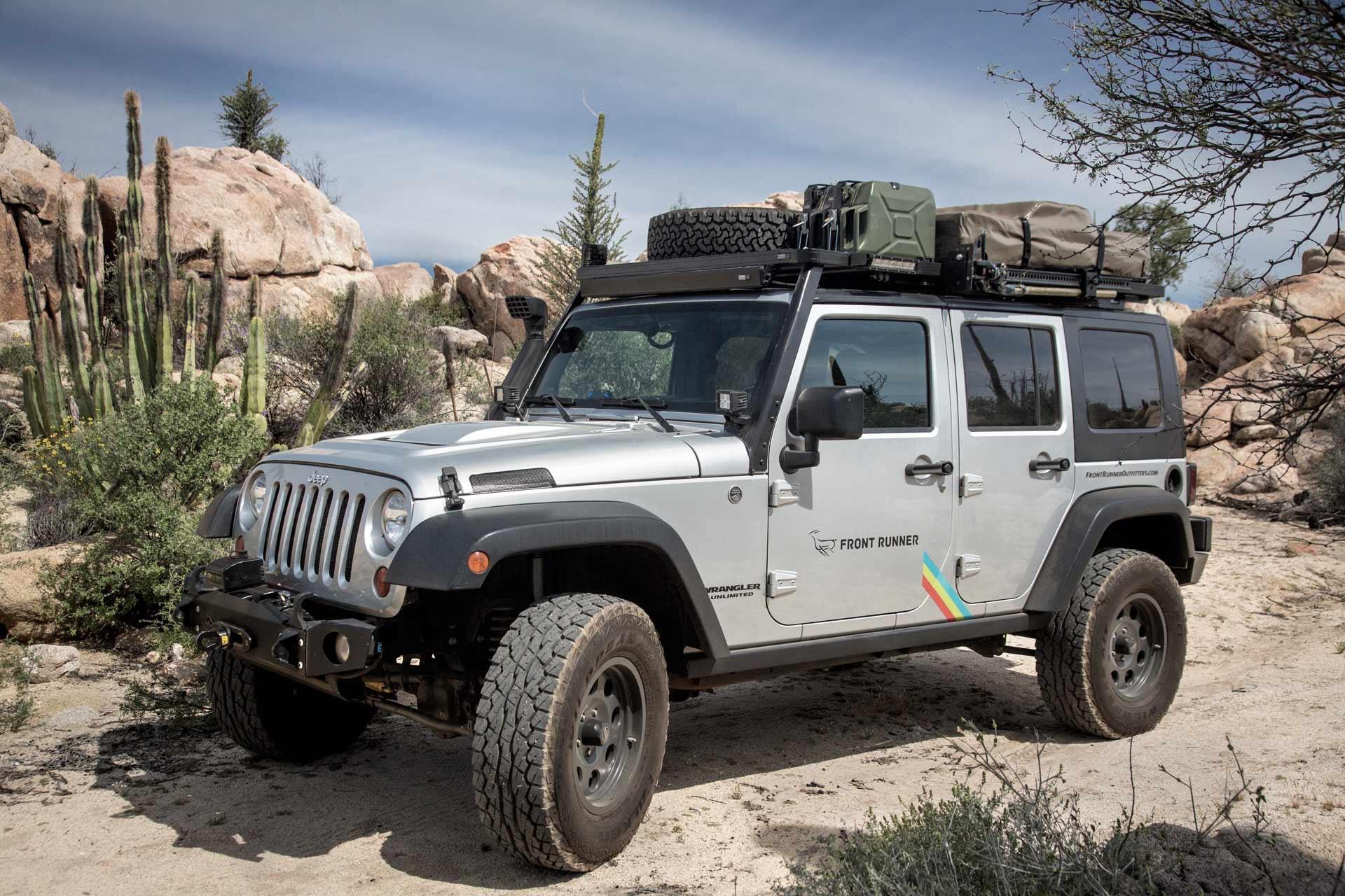Jeep: Tout le monde connaît les accessoires traditionnels comme le support de roue de secours ou de jerrican