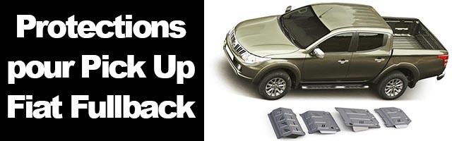 Blindage pour Fiat Fullback