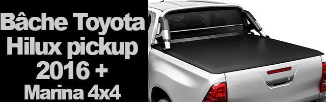 Bâche pour Toyota Hilux Revo pick up