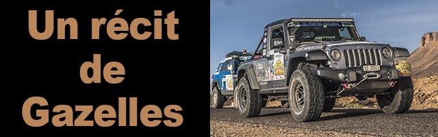 Rallye des Gazelles, l'histoire de l'équipage 146 pour sa première participation