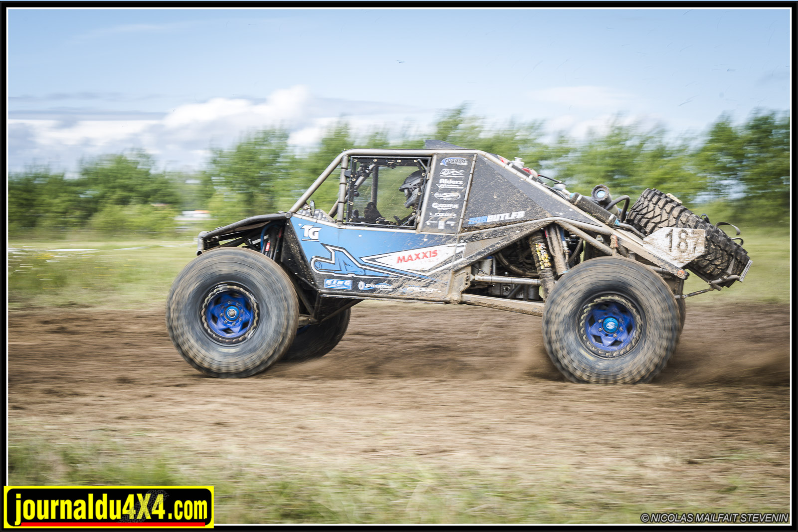 Premier Ultra4 IFS européen ! Mad in Rob Butler Off Road Armoury