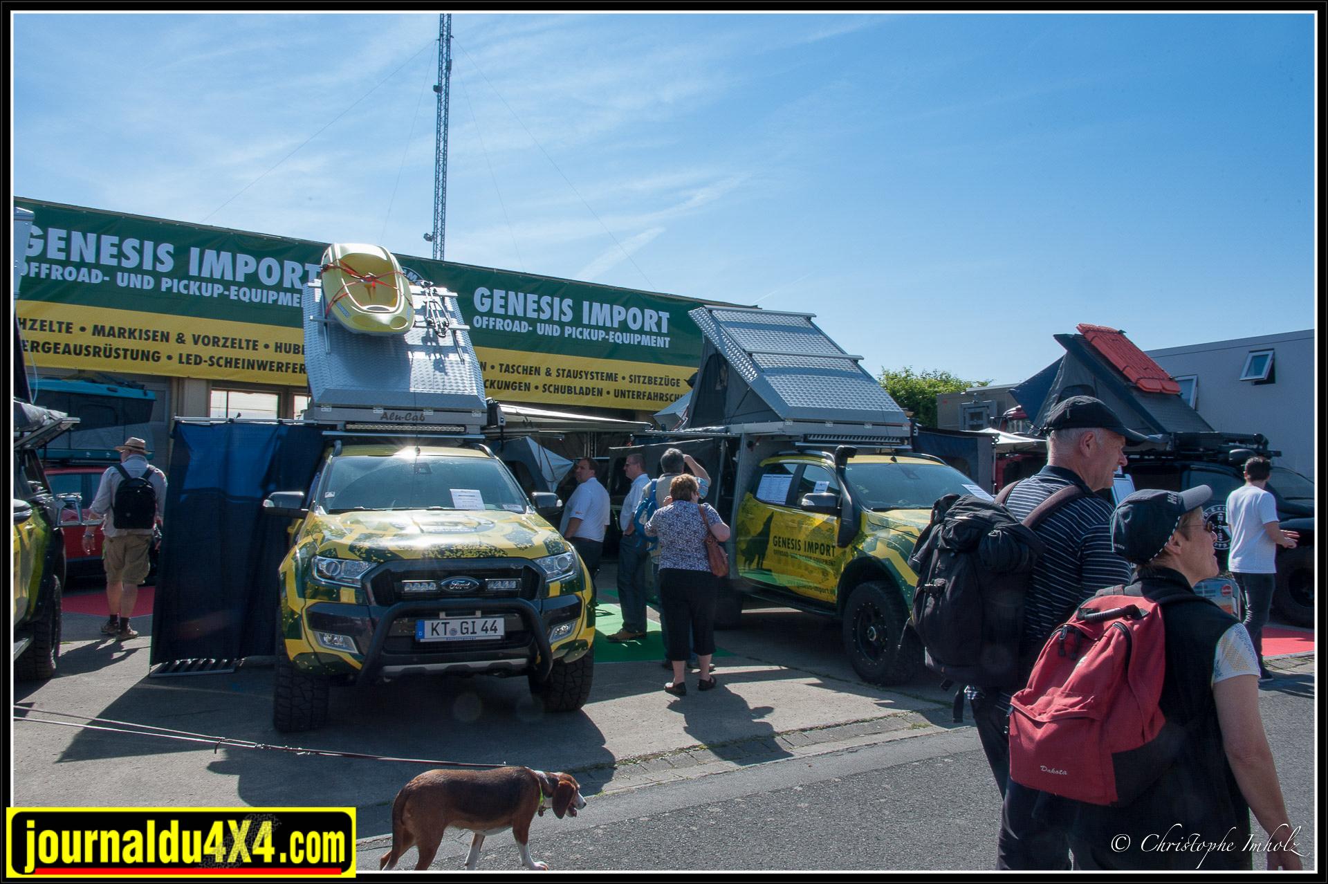Genesis Import est l'importateur européen pour Alu-Cab