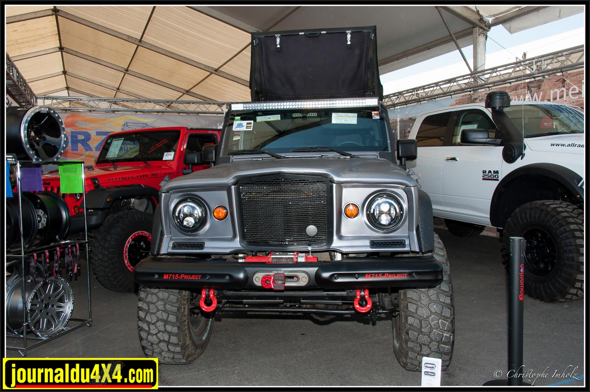 Exercice de style sur un Jeep JK